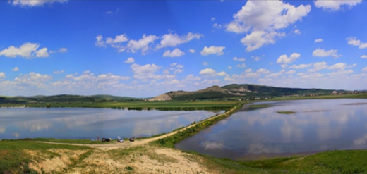 FOTO: Lac Iernut, județul Mureș