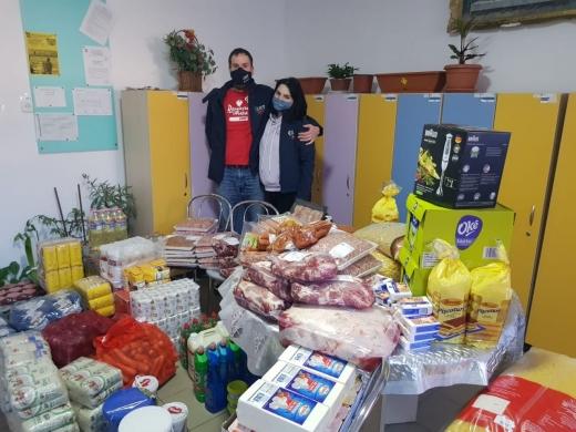 Voluntarii CERT Transilvania, gest superb pentru 60 de persoane de la Centrul din Baia Arieș