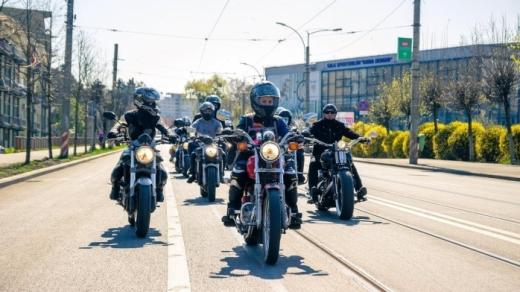 """""""Defilarea motocicliștilor"""" revine în Cluj-Napoca."""