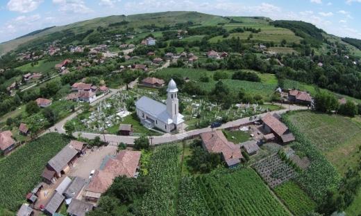 Comuna Pălatca. Sursă foto: Biserici văzute de sus