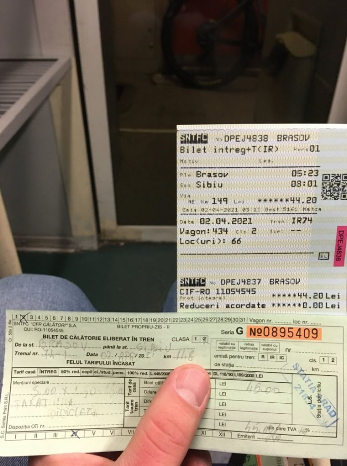 """Aberant! Biletul CFR pentru bicicletă, mai scump decât cel de călător! """"Să normalizăm accesul bicicliștilor pe trenurile CFR!"""""""