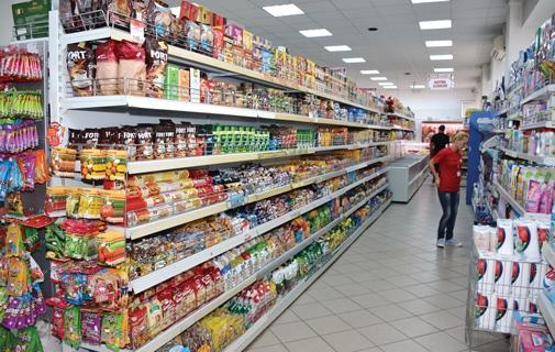 Halva cu o bucată mare de metal, într-un magazin din Cluj-Napoca. Poză generică.