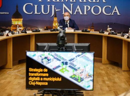 Clujul intră în era digitalizării. A fost prezentată strategia de transformare a municipiului Cluj-Napoca