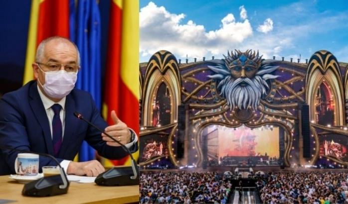Emil Boc îndeamnă la vaccinare, pentru a se putea organiza festivalurile Untold și Electric Castle.