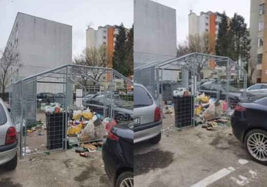 """FOTO. Așa arată noile punctele de colectare selectivă a gunoiului.""""Ideea nu e proastă. Populația e needucată"""""""