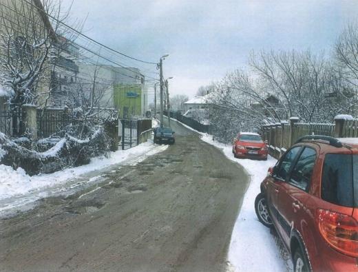 Când apare asfaltul pe strada Mozart? Proiectul, pe masa consilierilor locali