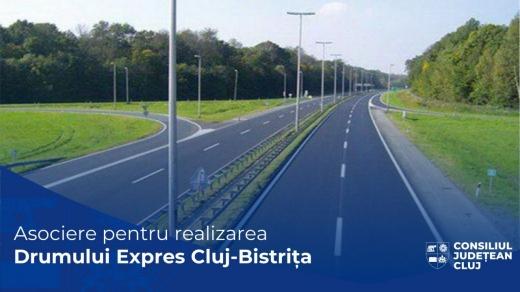 Drumul expres Bistrița - Cluj-Napoca prinde contur. Cele două județete se asociază pentru realizarea unui proiect extrem de important