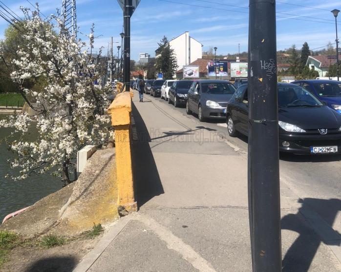 Vaccinarea la Sala Sporturilor a blocat TRAFICUL în zona Podului Garibaldi