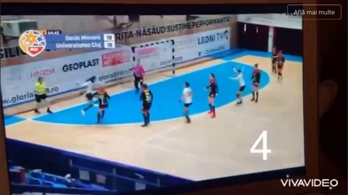 """VIDEO. Conducerea lui """"U"""" Cluj publicat toate greșelile de arbitraj din meciul cu CS Mioveni"""