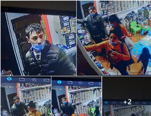 Hoții din Mănăștur nu sunt începători! Au furat și o bicicletă înainte de a jefui un magazin de pantofi