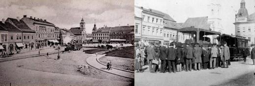 Tramvaie cu abur, în anul 1901