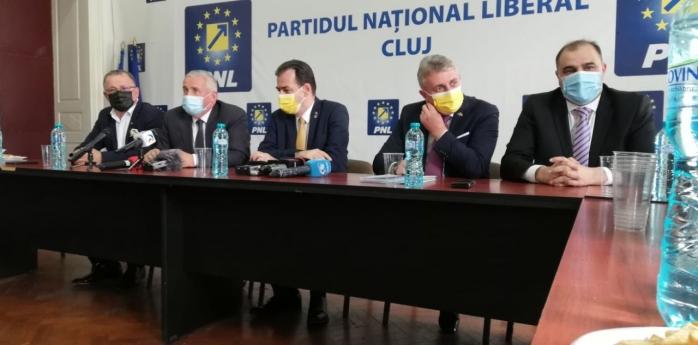 """Orban, ignorat în vizita sa la Cluj. Emil Boc, """"în altă întâlnire"""", Alin Tișe lansează atacuri dure la adresa liderului PNL"""
