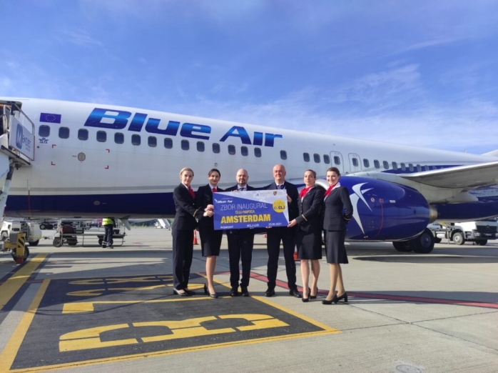 "Zboruri Cluj - Amsterdam de pe Aeroportul Internațional ""Avram Iancu"""