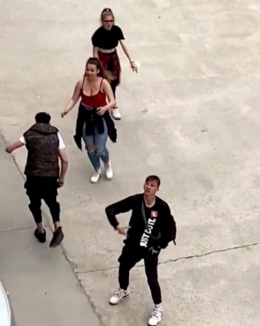 Tinerii băuți care au făcut scandal MONSTRU în Florești s-au ales cu amendă de 1.000 lei