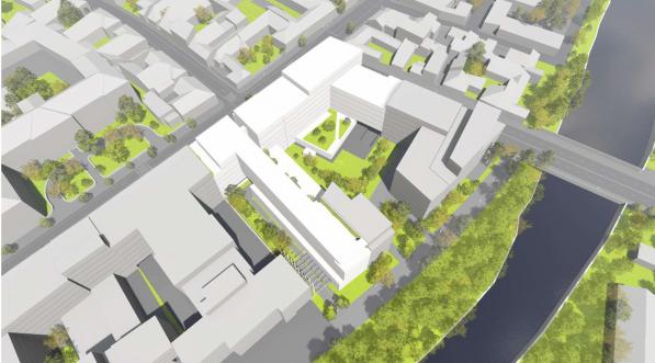 Undă verde pentru hotelul cu 7 etaje, de pe malul Someșului! Consilierii locali au votat în unanimitate.