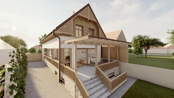 FOTO. Proiectele de arhitectură rurală de calitate, tot mai des întâlnite în Cluj