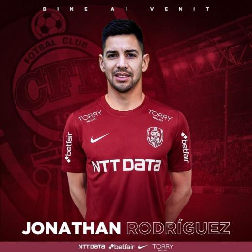 Jonathan Rodriguez a semnat cu CFR Cluj