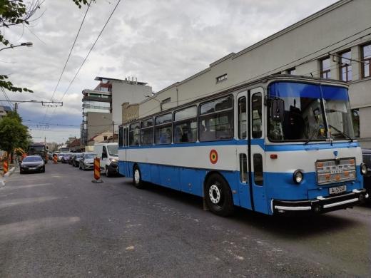 Autobuzele ROMAN în continuare la datorie pe străzile din Cluj! Sunt vechi de peste 20 de ani