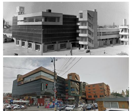"""Piața Mihai Viteazu, blocată din anii '90 de Hotel Cristian: """"Trebuie să îndepărtăm construcțiile parazitare"""""""