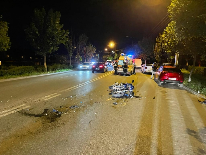 ACCIDENT pe B-dul 1 Decembrie din Cluj.