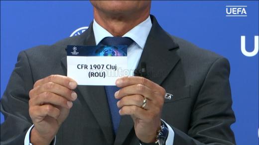 CFR Cluj și-a aflat adversara în turul 1 preliminar din Liga Campionilor