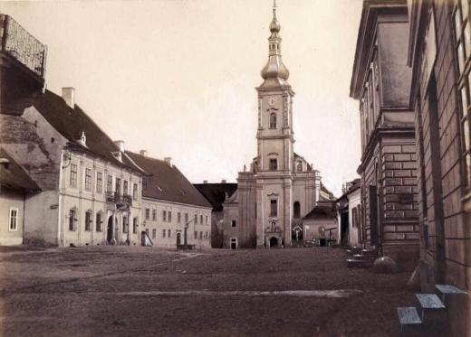 Biserica Franciscană, anul 1858