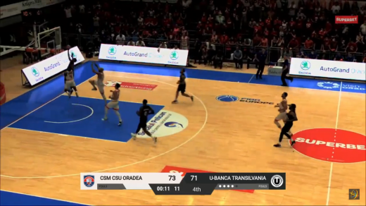 Colegiul arbitrilor recunoaște că s-a greșit la ultima fază a meciului CSM Oradea – U-BT Cluj