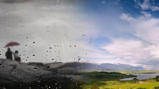 Vreme schimbătoare la Cluj în următoarea perioadă. O zi soare, alta ploaie