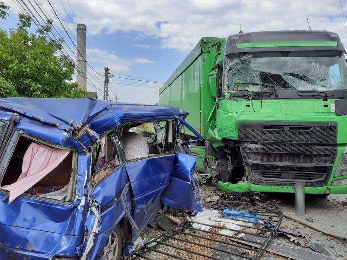 Un accident deosebit de grav s-a petrecut în Dej astăzi