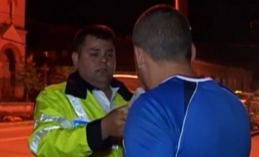 Șofer clujean de 68 de ani, prins conducând cu o alcoolemie de peste 1 la mie.