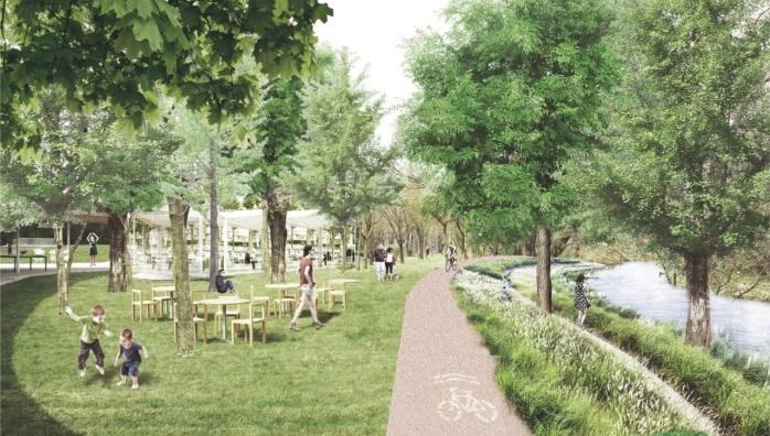 Parcul Armătura din Iris se modernizează și extinde cu alei pietonale și pentru bicicliști