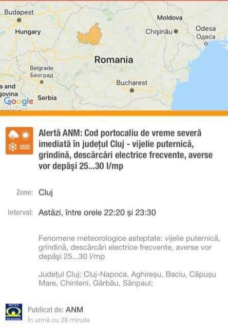 """Radu Moisin declară război Ro-Alert! """"Autoritățile știau din timp de acest dezastru""""."""