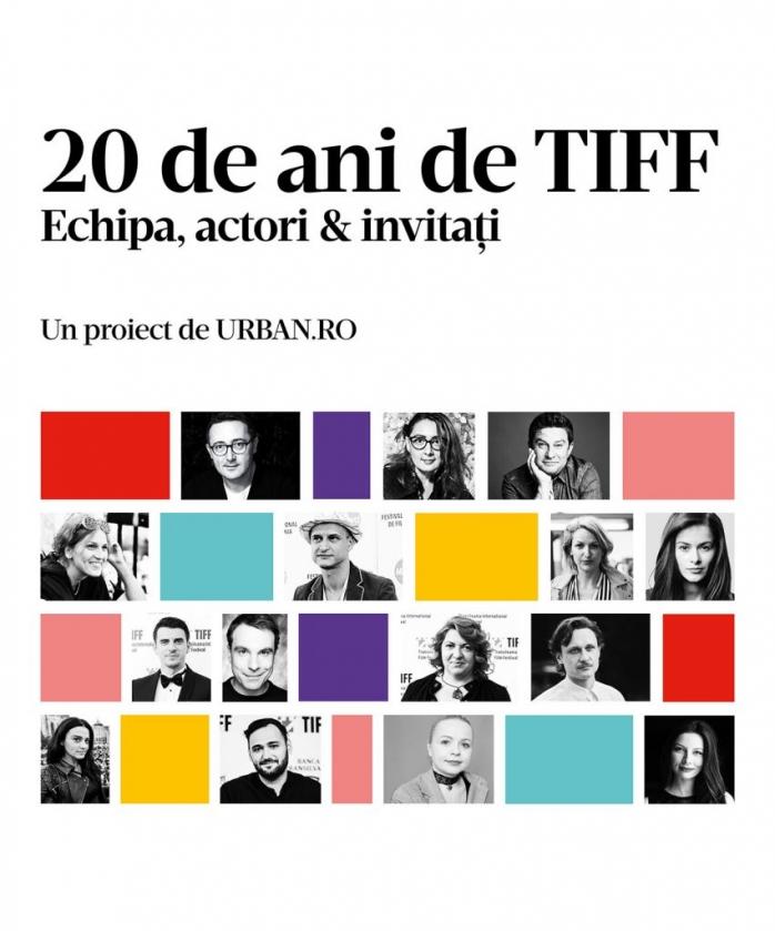 Prima carte despre un festival, lansată la Cluj, la 20 de ani de TIFF