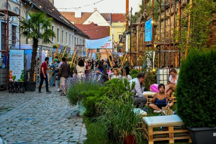 Piață de flori altfel pe strada Potaissa. Un colț de rai cu lavandă, flori de sezon și plante suculente. GALERIE FOTO