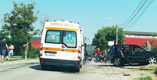 Accident pe Valea Seacă! Traficul este îngreunat în zonă