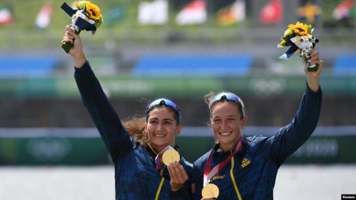 România a câștigat prima medalie de AUR la Jocurile Olimpice, la dublu vâsle feminin