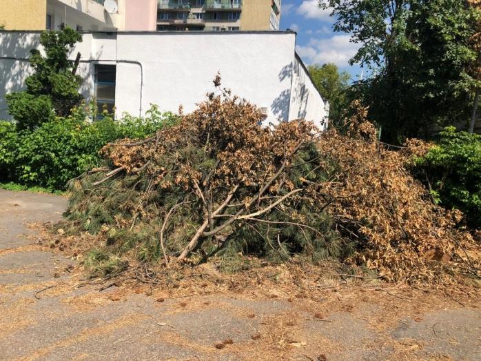FOTO. Cartierul Gheorgheni, ca după bombardament