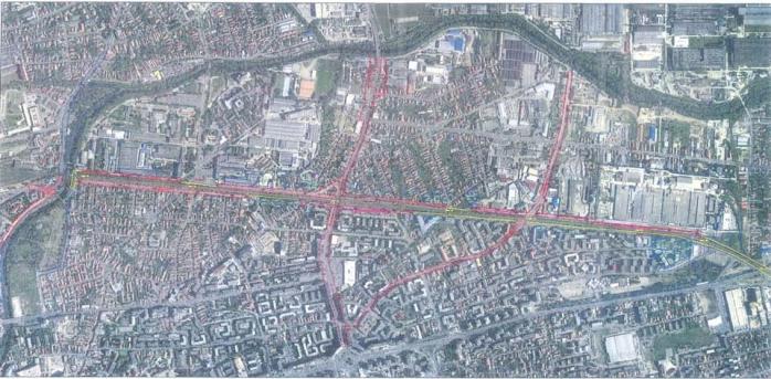Culoar de mobilitate strada Oașului - IRA. A fost semnat contractul pentru studiul de fezabiliate