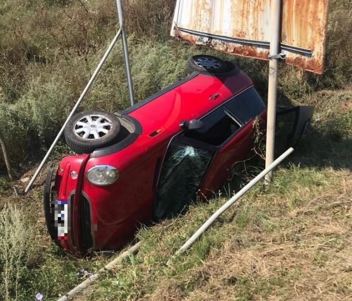 Accident la intrarea în Apahida. O femeie a fost transportată la spital