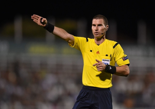 Bulgarul Gheorghi Kabakov va arbitra meciul Steaua Roșie - CFR Cluj din Europa League