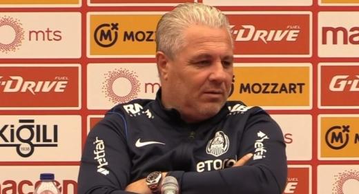 Șumudică, încrezător înaintea meciului CFR Cluj - Steaua Roșie Belgrad