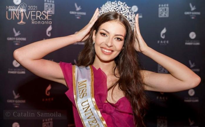 Miss Univers România 2021, o studentă din Cluj