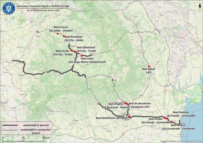 Licitație pentru 2 noduri rutiere noi din Cluj