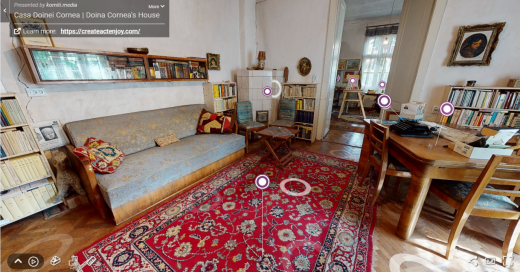Tur virtual în casa Doinei Cornea. Povestea disidentei, spusă prin obiectele sale personale