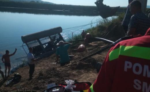 Angajat la o balastieră, găsit mort în Someș, lângă Cluj