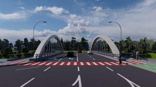 Podul Răsăritului a intrat în șantier! Șoferii vor putea circula pe patru benzi. Când vor fi gata lucrările? FOTO