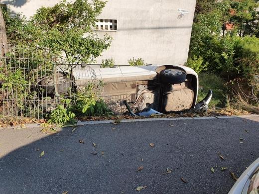 FOTO. Un accident mai puțin obișnuit în Cluj