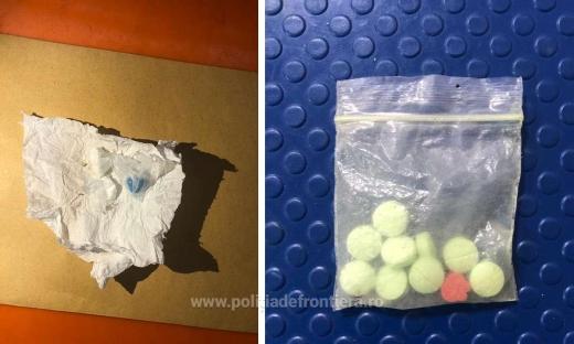 Doi pasageri, prinși cu droguri pe aeroportul Cluj Napoca.
