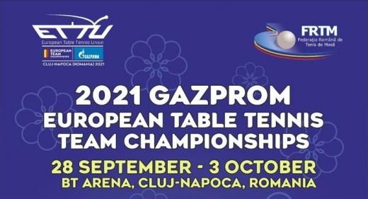Cluj-Napoca găzduiește Campionatul European de Tenis de Masă! Programul meciurilor pentru România