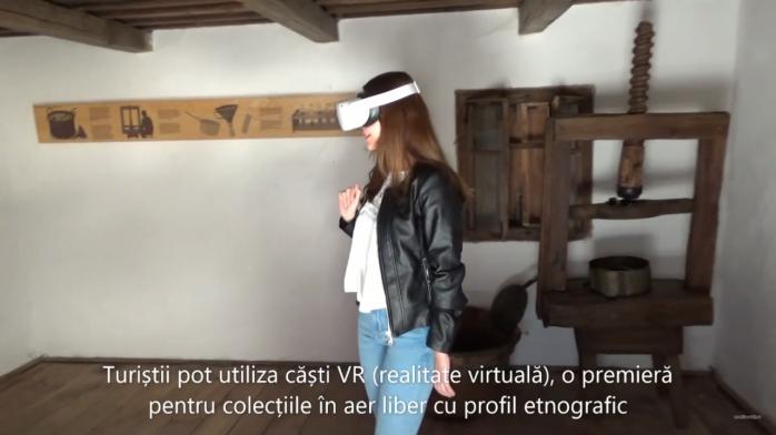 VIDEO. Turiștii pot utiliza căști VR la Muzeul Astra din Sibiu